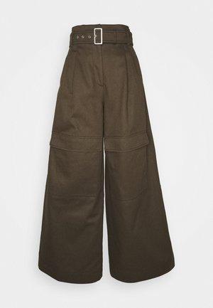 ORNATI - Jeans a zampa - braun