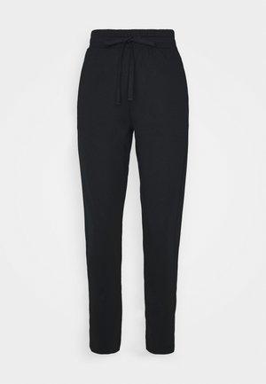KERAS - Teplákové kalhoty - black