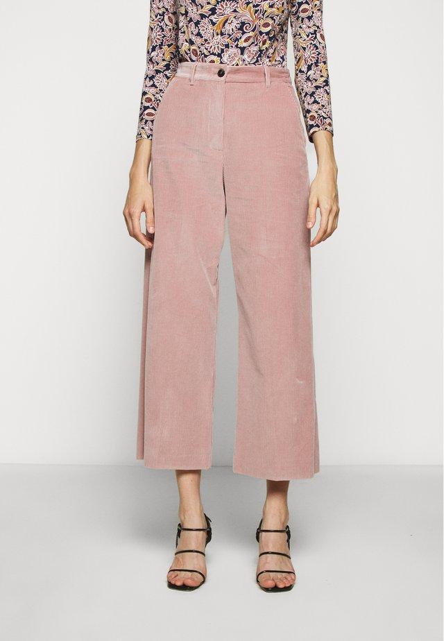 TOBIA - Kalhoty - rosa