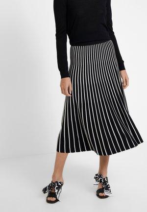 ARIANO - Áčková sukně - schwarz
