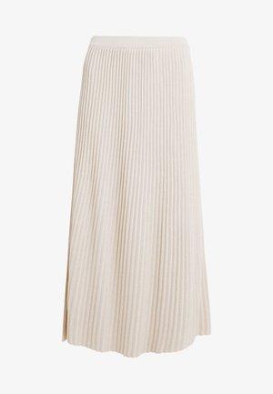 SCILLA - Pliceret nederdel /Nederdele med folder - beige