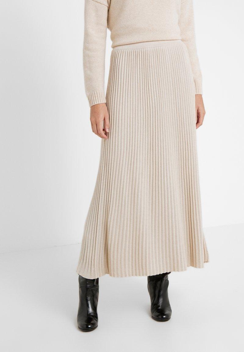 WEEKEND MaxMara - SCILLA - Pleated skirt - beige
