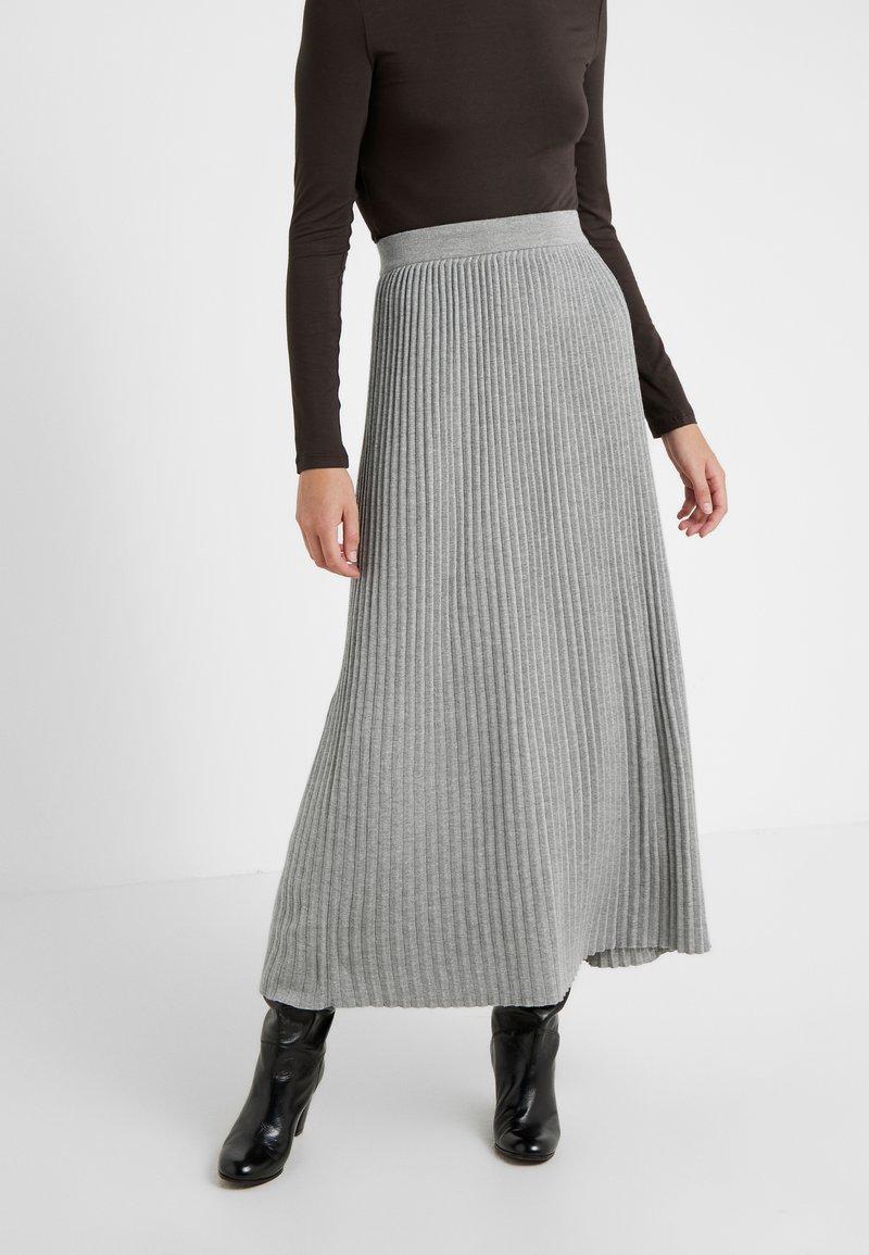 WEEKEND MaxMara - SCILLA - Plisovaná sukně - hellgrau