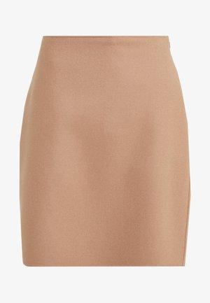 VONGOLA - Áčková sukně - kamel