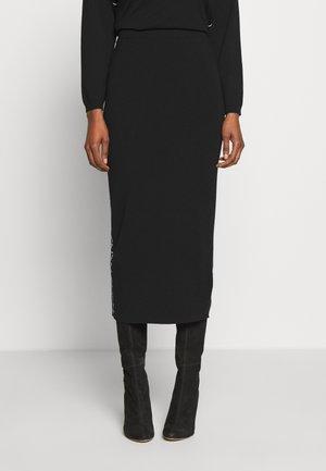 SACCO - Pencil skirt - schwarz