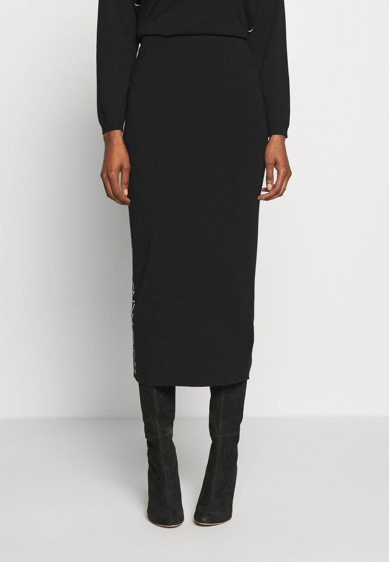 WEEKEND MaxMara - SACCO - Pouzdrová sukně - schwarz