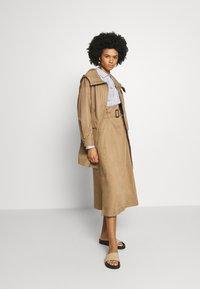 WEEKEND MaxMara - BRUSSON - A-line skirt - erde - 1
