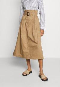WEEKEND MaxMara - BRUSSON - A-line skirt - erde - 0