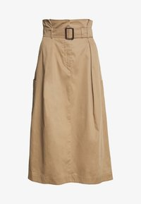 WEEKEND MaxMara - BRUSSON - A-line skirt - erde - 3