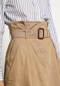 WEEKEND MaxMara - BRUSSON - A-line skirt - erde - 4