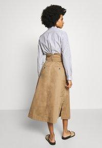 WEEKEND MaxMara - BRUSSON - A-line skirt - erde - 2