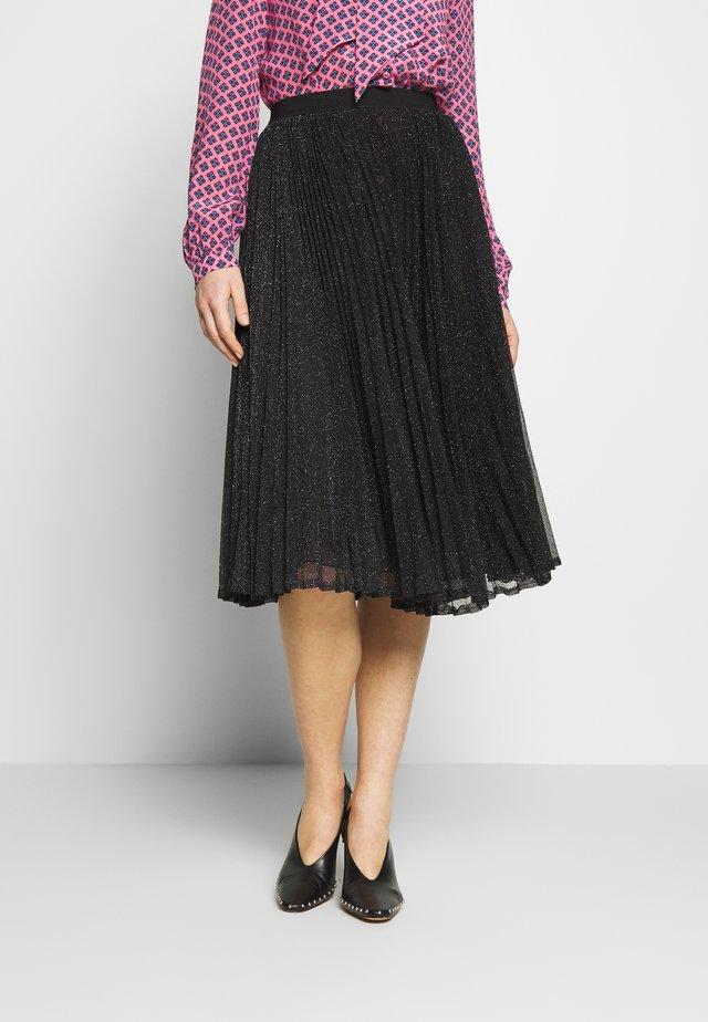 VARNA - A-line skirt - schwarz