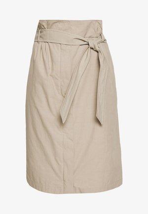 NABULUS - Pencil skirt - sand