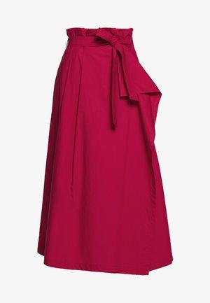 ANDREIS - A-line skirt - kirsche