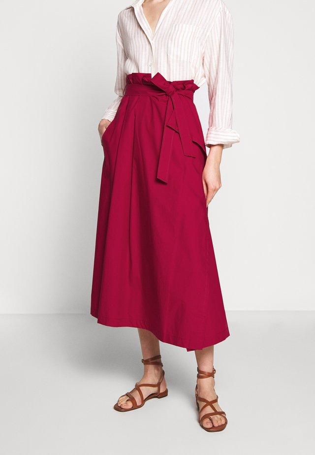 ANDREIS - Áčková sukně - kirsche
