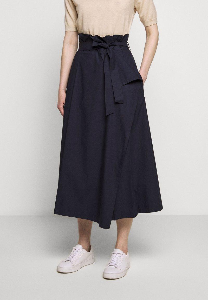 WEEKEND MaxMara - ANDREIS - Áčková sukně - nachtblau