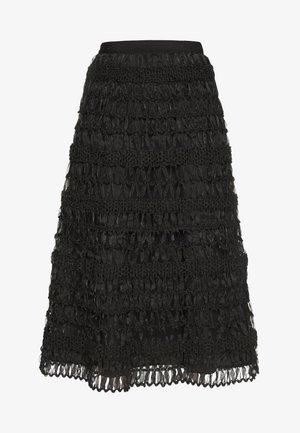 SEGALE - Áčková sukně - schwarz