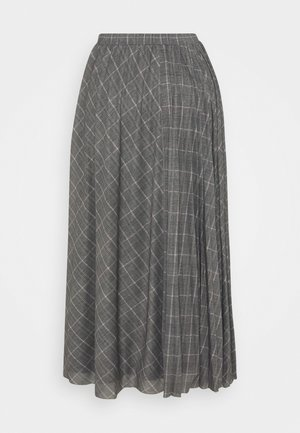 LINCE - A-line skirt - grey