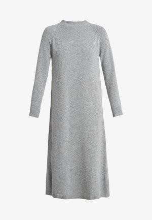 GENEPI - Pletené šaty - hellgrau