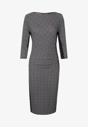 """KRISS"" - Jersey dress - black/grey"