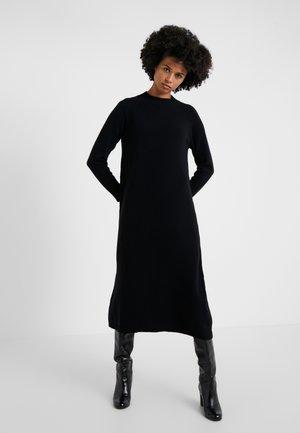 RAPALLO - Pletené šaty - schwarz