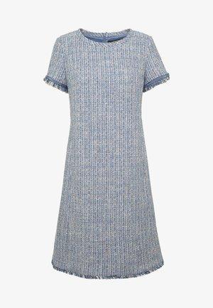 RANCH - Strikket kjole - azurblau