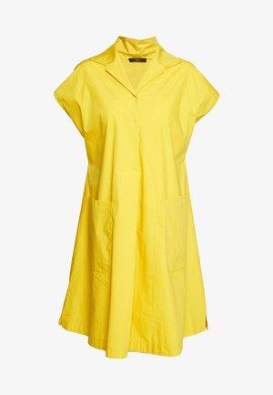LINFA - Shirt dress - gelb