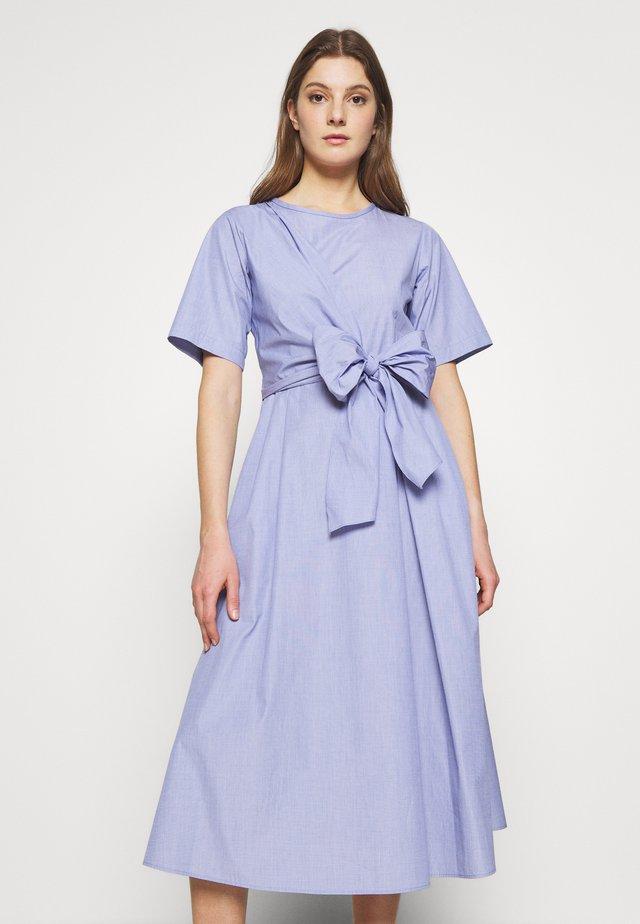 DEDALO - Korte jurk - azurblau