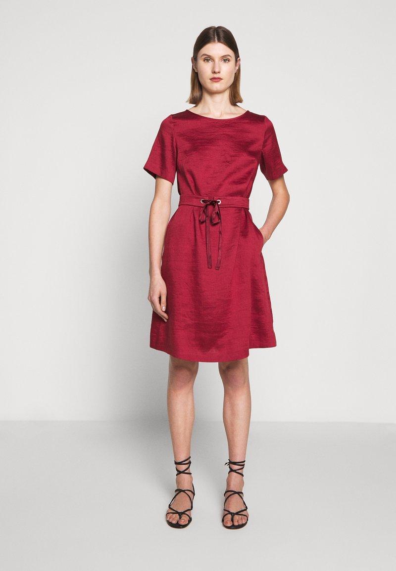 WEEKEND MaxMara - HAWAY - Day dress - bordeaux