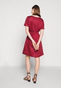 WEEKEND MaxMara - HAWAY - Day dress - bordeaux - 2