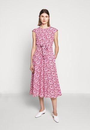 RAGTIME - Day dress - pink/dark red