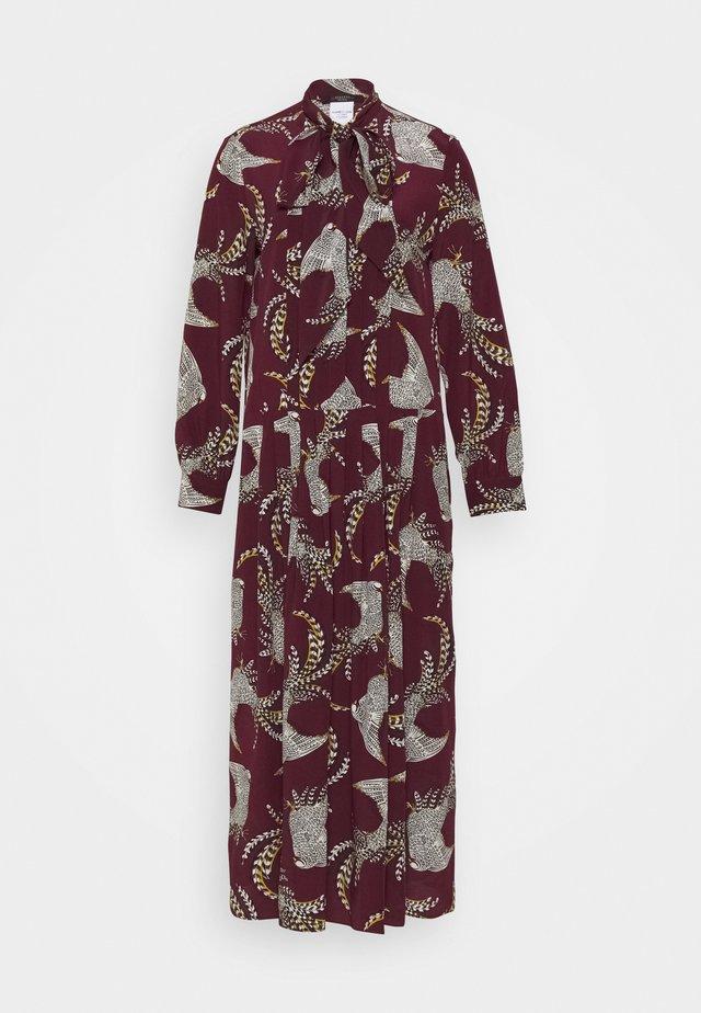 ZOLFO - Długa sukienka - pflaume