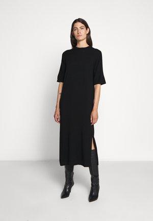 ONDA - Abito in maglia - schwarz