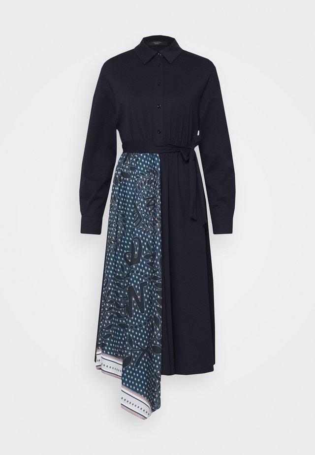 NIGRA - Skjortekjole - ultramarine