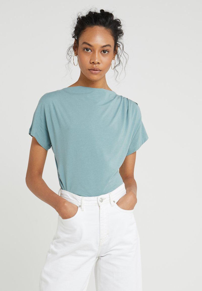 WEEKEND MaxMara - MULTID - Print T-shirt - wasser