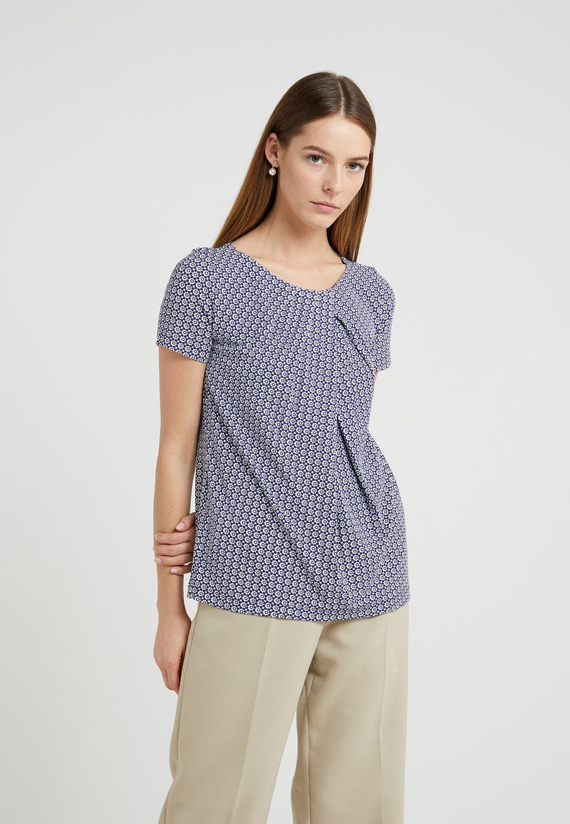 WEEKEND MaxMara - TONDO - T-Shirt print - ultramarine