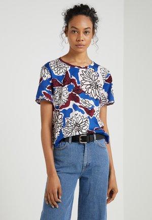PALO - Print T-shirt - lichtblau
