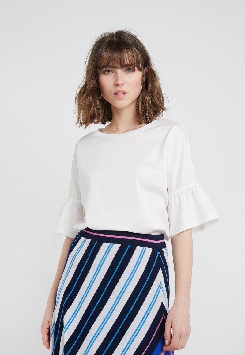 WEEKEND MaxMara - CALAMAI - Camiseta estampada - white