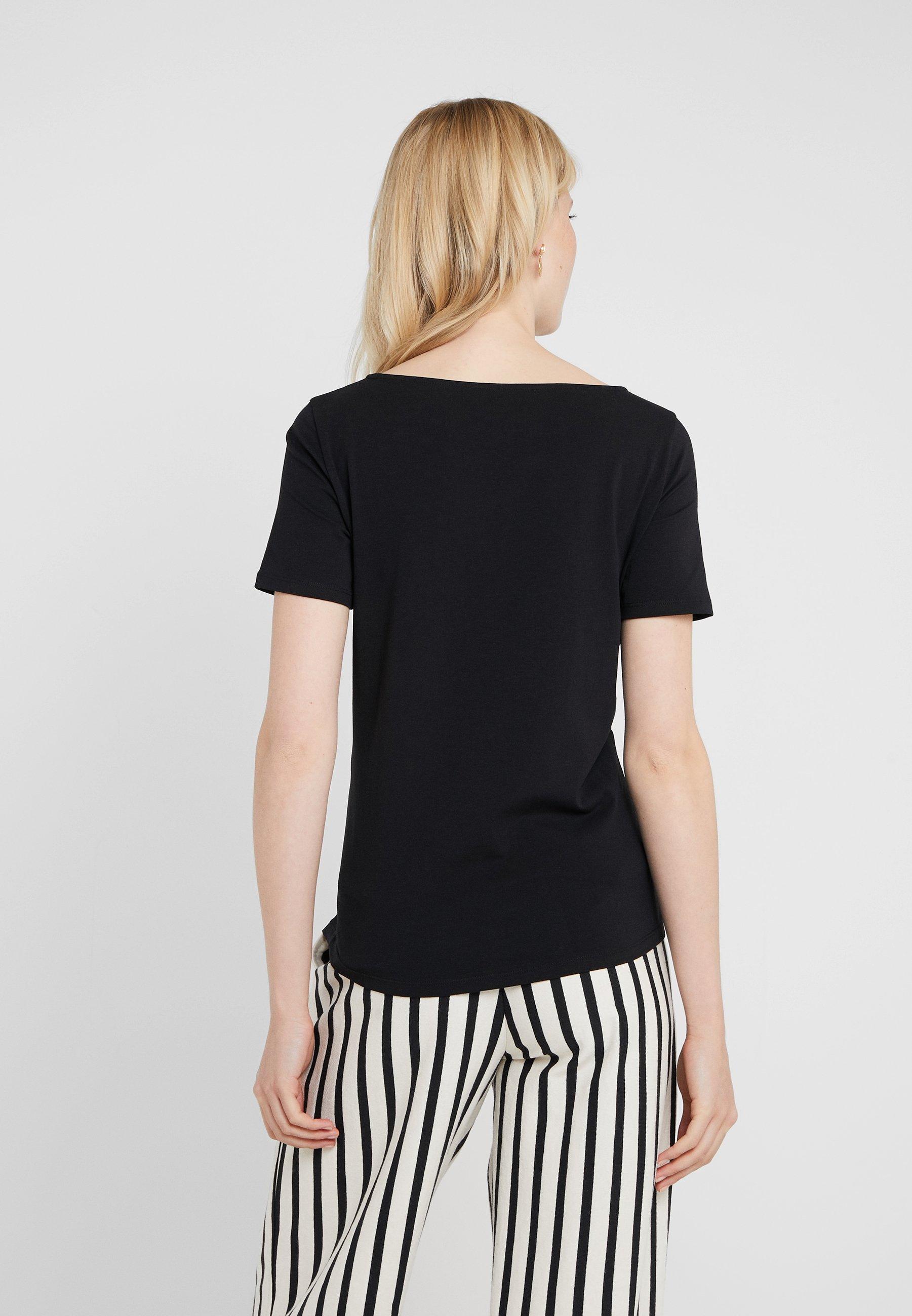 shirt Schwarz MultieT Maxmara Basique Weekend 9YbWIEDeH2