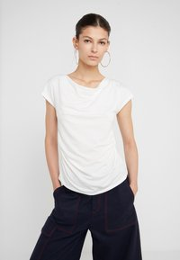 WEEKEND MaxMara - MULTIF - T-shirt z nadrukiem - weiß - 3