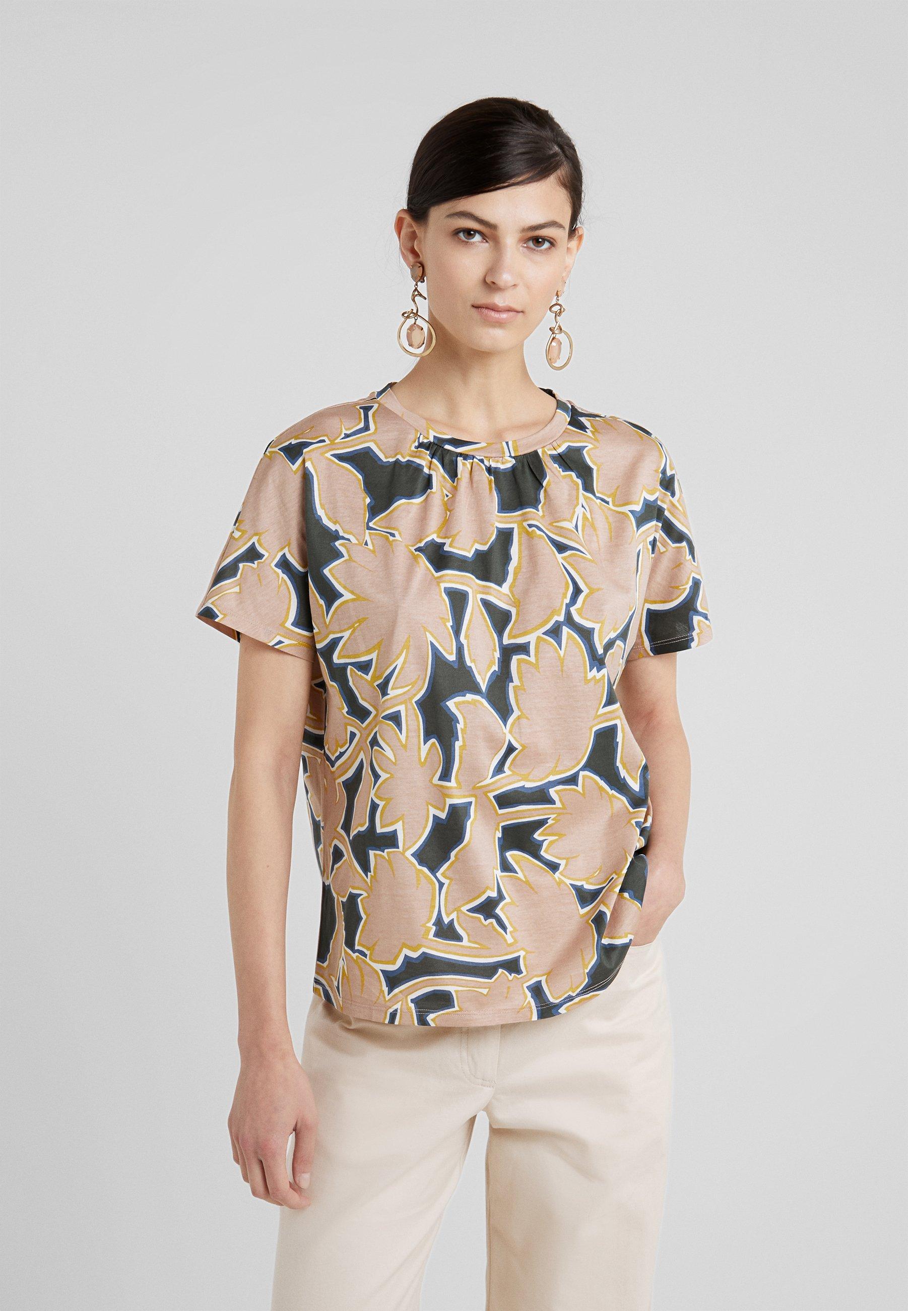 KastelT shirt Rosa Maxmara Weekend Imprimé nmN80wOv