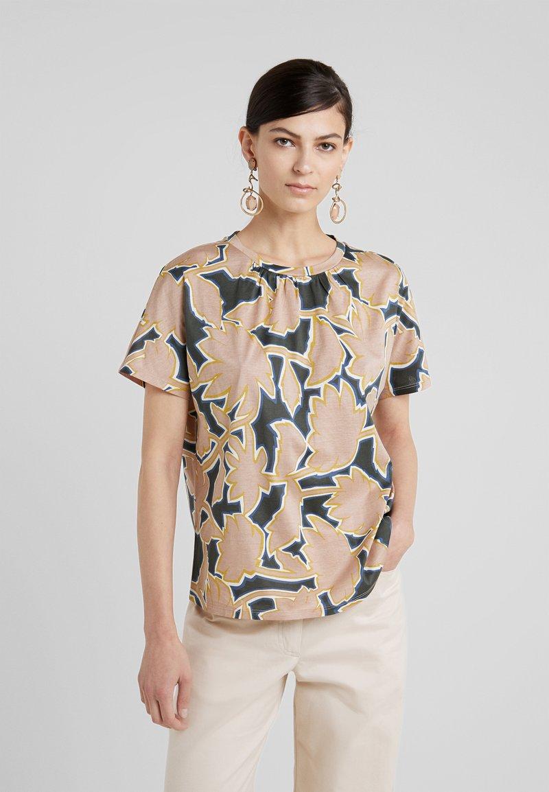 WEEKEND MaxMara - KASTEL - Print T-shirt - rosa