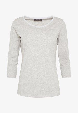 MULTIA - Long sleeved top - hellgrau