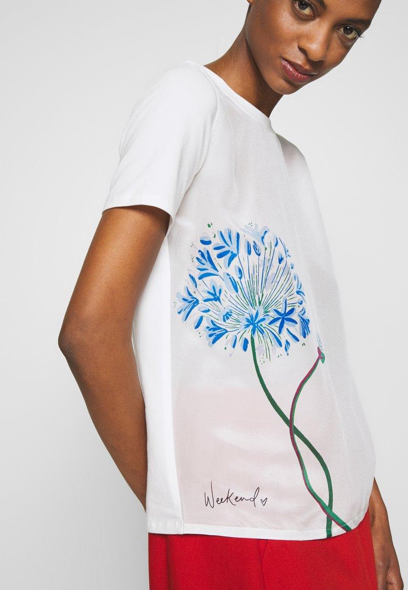 WEEKEND MaxMara ALASKA - T-shirt con stampa - white kKnMbL nuovo arrivo