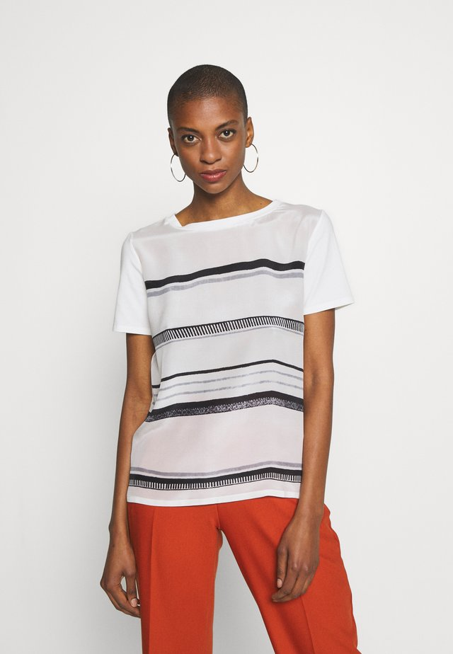 ALASKA - Print T-shirt - weiss