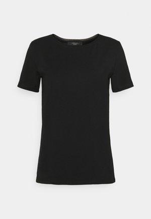 Jednoduché triko - schwarz