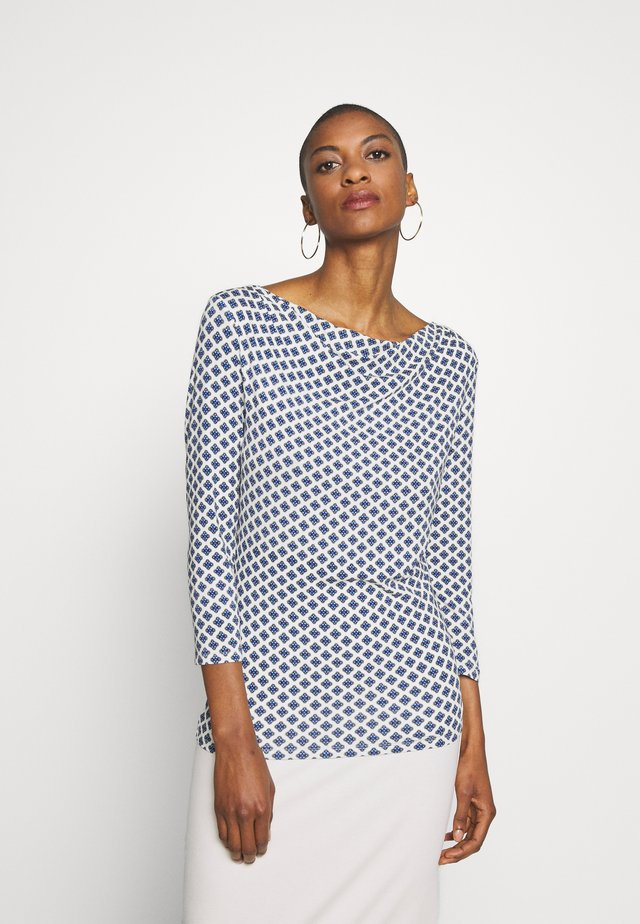 TIRSI - Long sleeved top - lichtblau