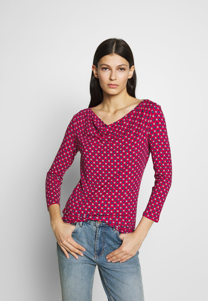 WEEKEND MaxMara - TIRSI - Bluzka z długim rękawem - shocking pink