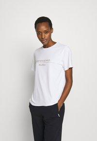 WEEKEND MaxMara - KABUKI - T-shirt print - weiss - 0