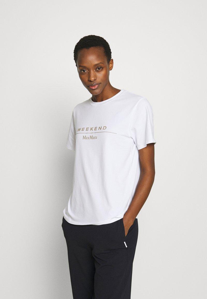WEEKEND MaxMara - KABUKI - T-shirt print - weiss